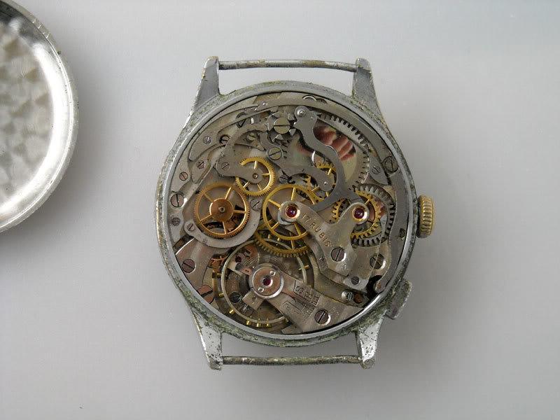 "Monopoussoir Chronographe Hahn-Landeron 15 1/2'"" 09"
