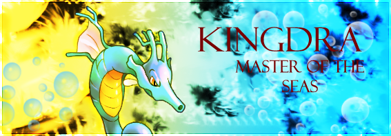 Kingdra Pokemon Community