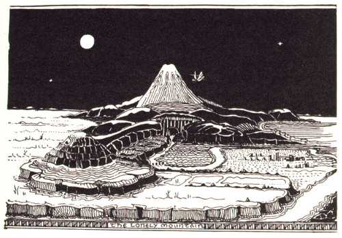 Fortress and cites of Dragon-Fall Erebor-Tolkien