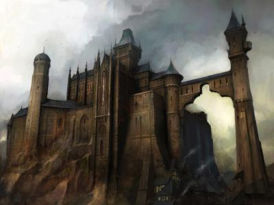 Fortress and cites of Dragon-Fall Assassins-Creed-Castle-1160