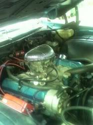 my 1974 cutlass 442 project Engine18comp