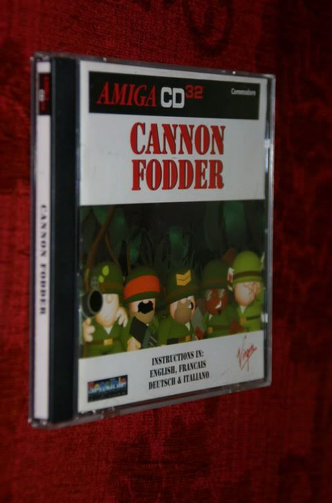 Saison 2 - Mois 2 - Vos jeux amiga AmigaCd32-Cannonfodder