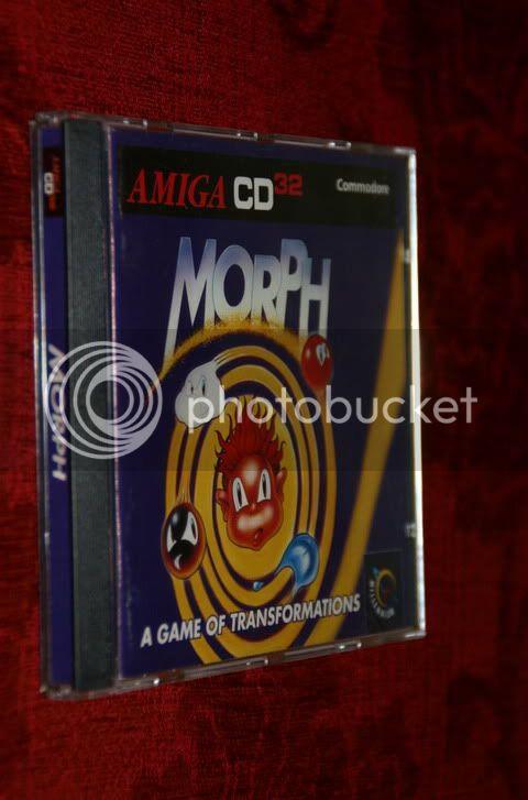 Saison 2 - Mois 2 - Vos jeux amiga AmigaCd32-Morph