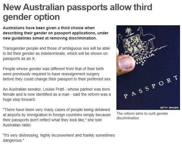 Passports??? Gender