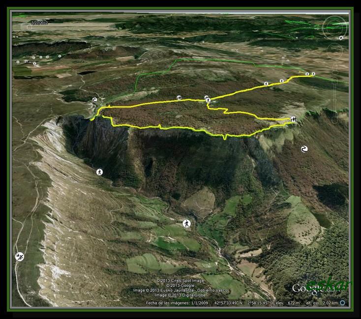 SALTO DEL NERVION Y ARANDO 943 MTS (NEVADO) Arando1