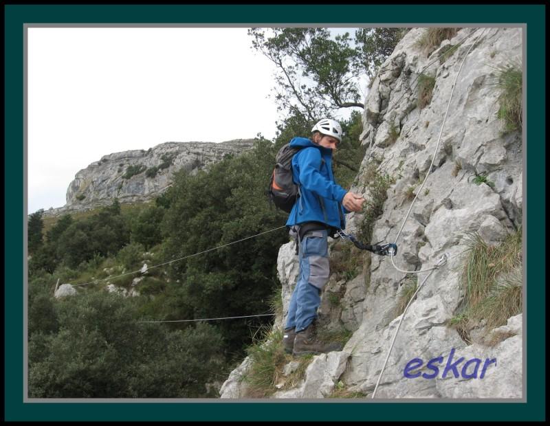 FERRATA EL RISCO matienzo de ruesga (cantabria) Vferrataelrisco34