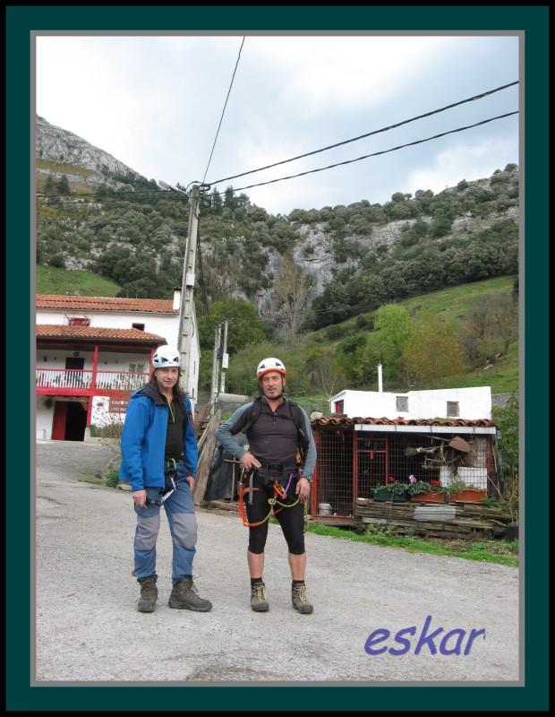 FERRATA EL RISCO matienzo de ruesga (cantabria) Vferrataelrisco50