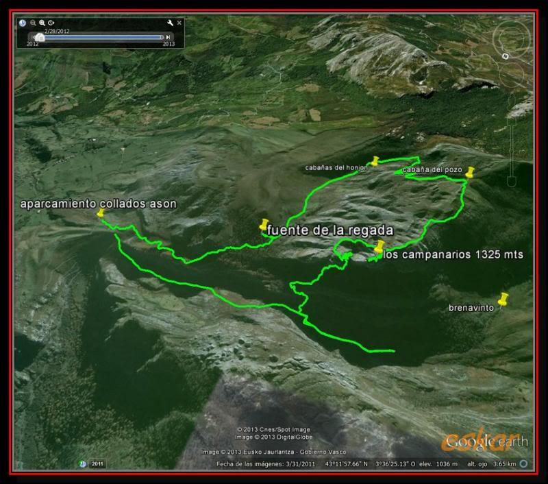 EL COLADERO DE LOS CAMPANARIOS 1325 MTS ( ALTOS DE ASON) Elcoladero1