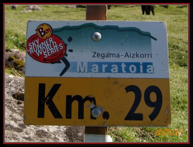 ZABALAITZ 1264 MTS Y GOROSTIARAN 1292MTS  MAS LA ZEGAMA MARATOIA G-Z117