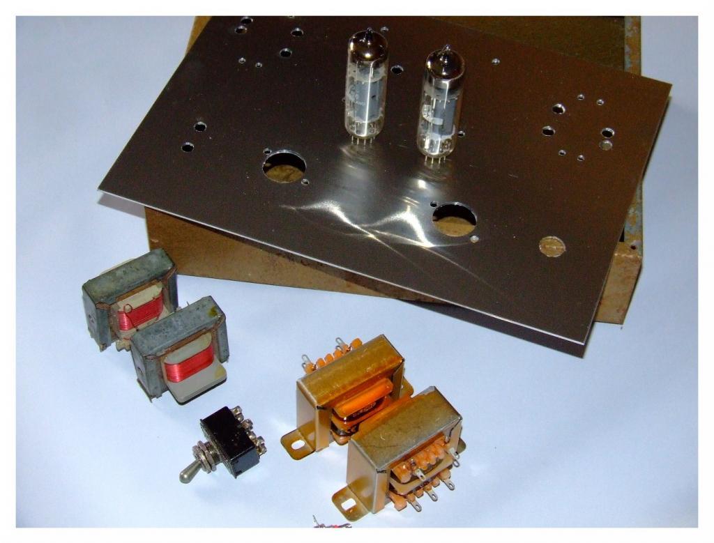 Mini amplificador PCL86 DSCF6752