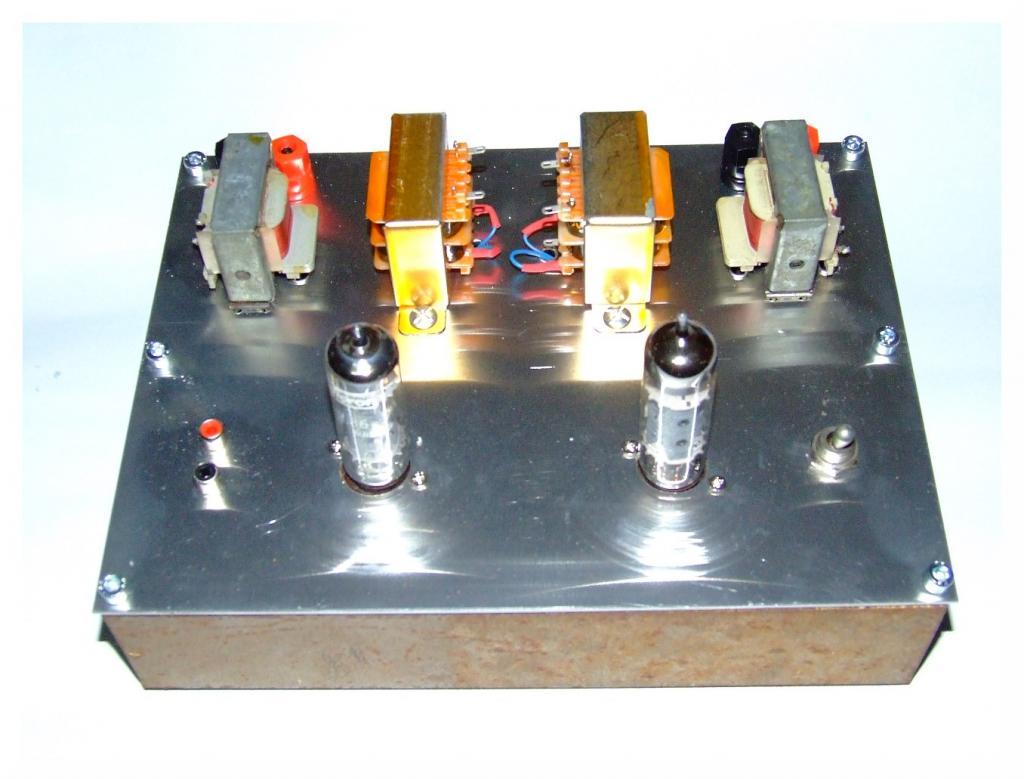 Mini amplificador PCL86 DSCF6775