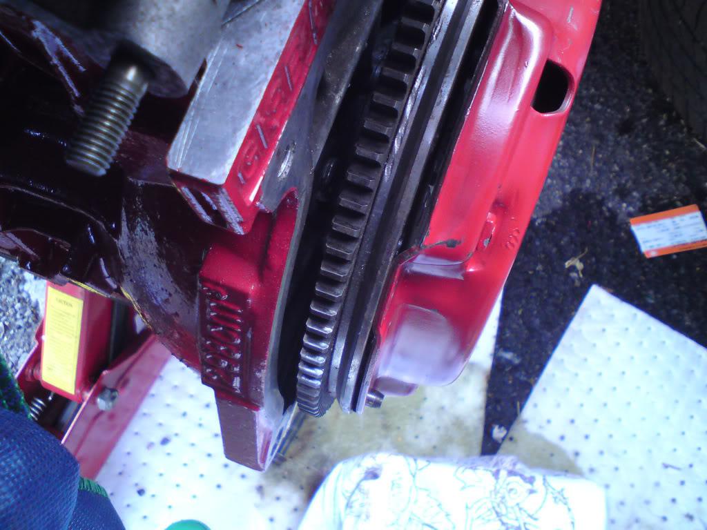 Flywheel/Clutch Problem DSC00284