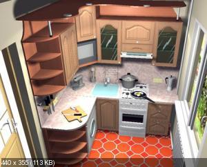 Маленькая кухня. Как спланировать ? Что туда поставить? D8c244204262081f5045fb5d337bab16