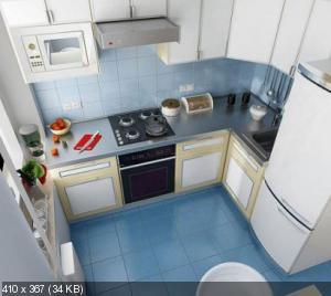 Маленькая кухня. Как спланировать ? Что туда поставить? 4dd67fd9a7a7ade03f14d32fbc65b8cf