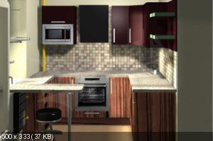 Маленькая кухня. Как спланировать ? Что туда поставить? D0a04b310b783d7192e4d6dbbcce5af8