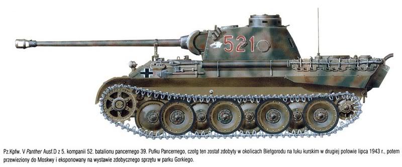 T-34 vs. Panter 123
