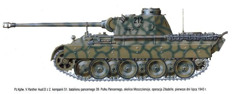 T-34 vs. Panter Untitled