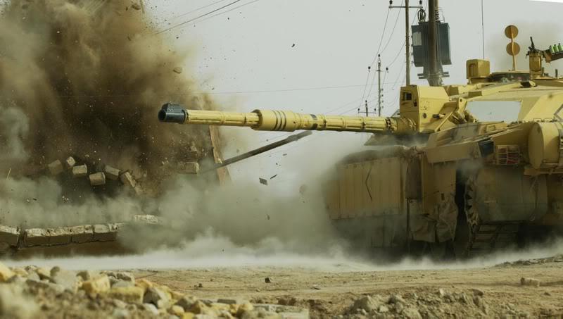 Tenkovske zgode i nezgode Challenger20in20iraq