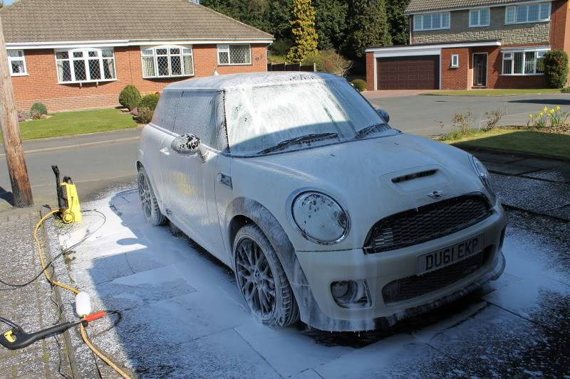Dugies First Snow Foam Experience IMG_1268