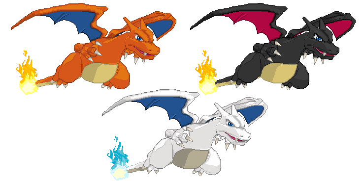 C.D.'s Sprite Stuff Charizards