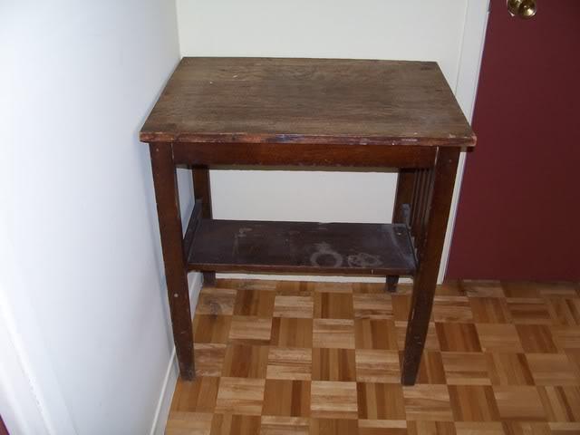 Revernir un meuble Table