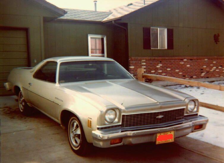 Old pics of my parents' 73's 73ElCamino_1