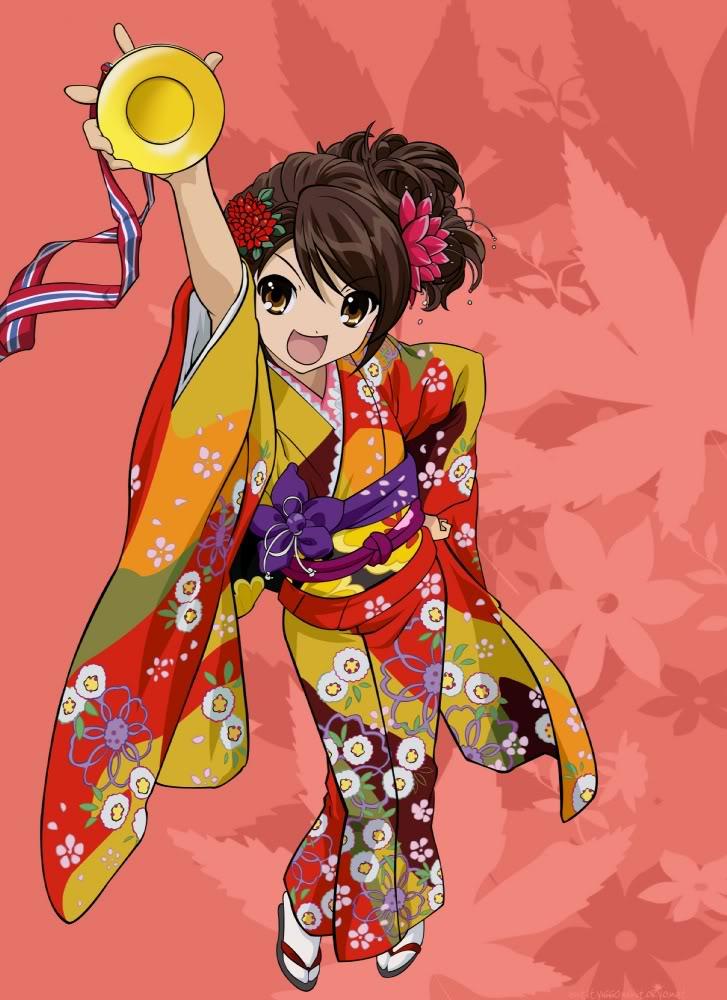 Imagenes de Suzumita Haruhi no Yutsu. 17