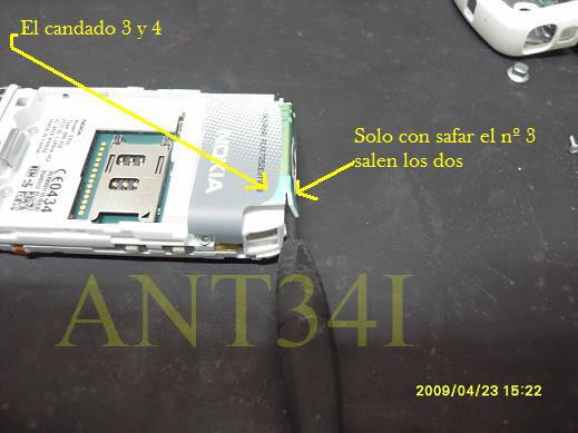 Solucion al problema de giro del nokia 5700 y desarmar by ant34i 10