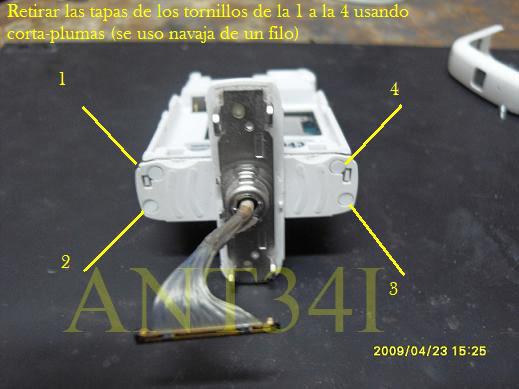 Solucion al problema de giro del nokia 5700 y desarmar by ant34i 13