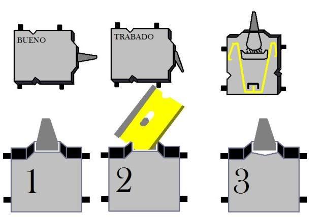 Solucion al problema de giro del nokia 5700 y desarmar by ant34i ESQUEMASW