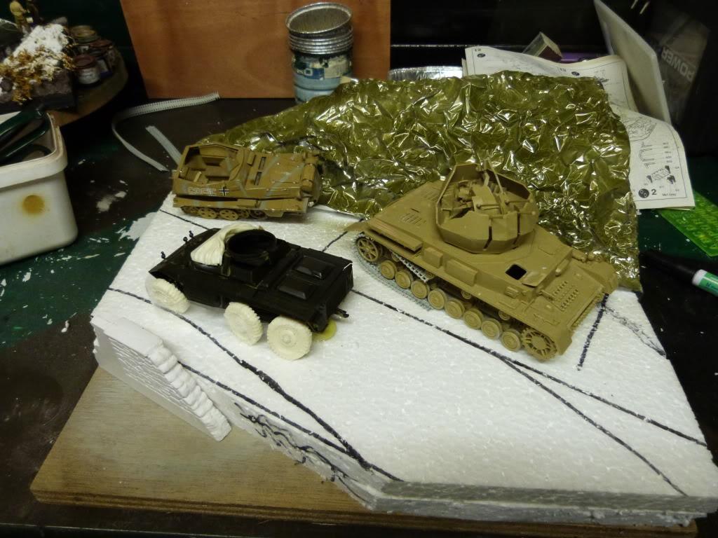 flakpanzer wirbelwind /sdkfz 251 / m20 + diorama ardennes P1000411