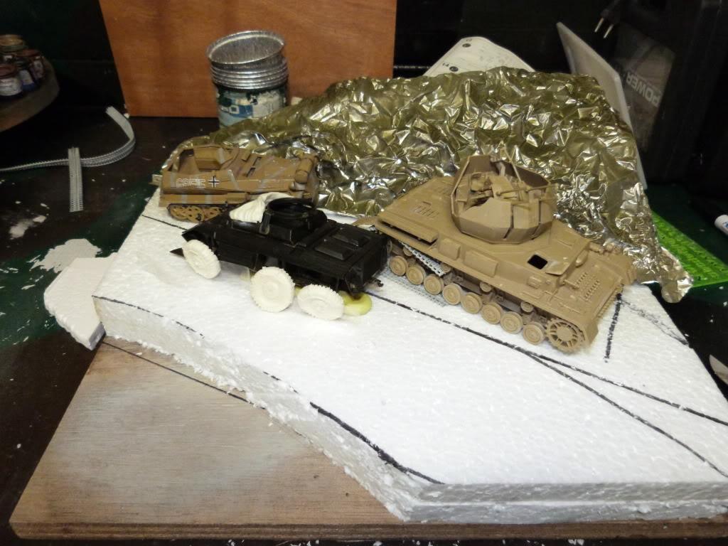 flakpanzer wirbelwind /sdkfz 251 / m20 + diorama ardennes P1000444