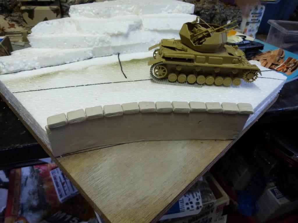 flakpanzer wirbelwind /sdkfz 251 / m20 + diorama ardennes P1000458