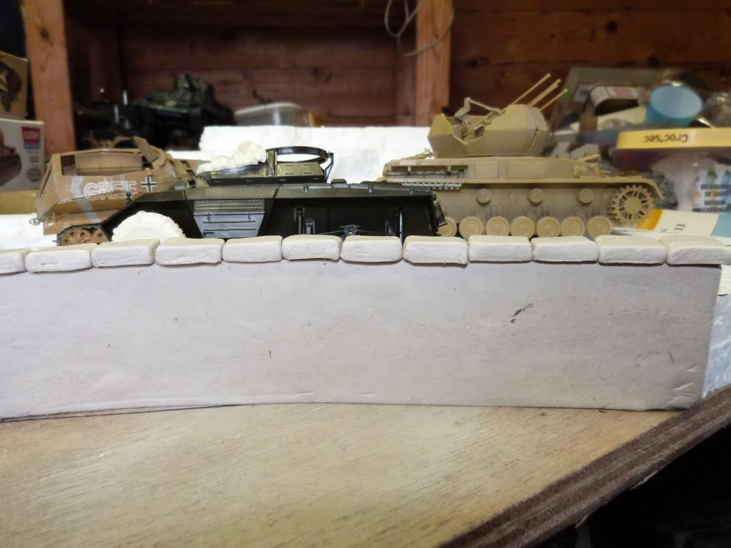 flakpanzer wirbelwind /sdkfz 251 / m20 + diorama ardennes P1000463