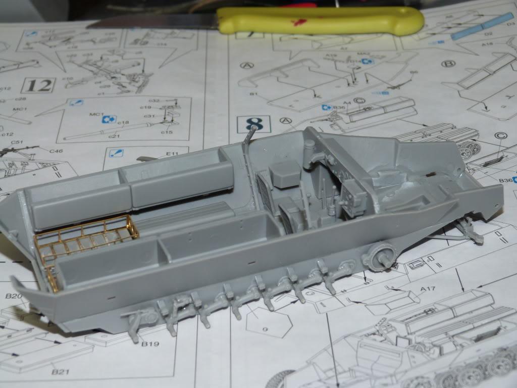 flakpanzer wirbelwind /sdkfz 251 / m20 + diorama ardennes P1000497