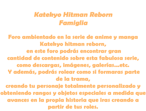 Katekyo Hitman Reborn Famiglia Sinttyntulo-2