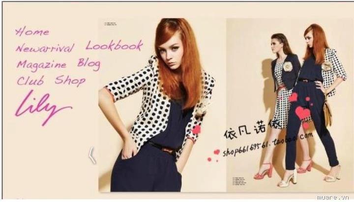 CandyPooh shop chuyên váy, áo sơ mi, vest,... hàng Tqxk, VNxk VestLilyhoa_480k