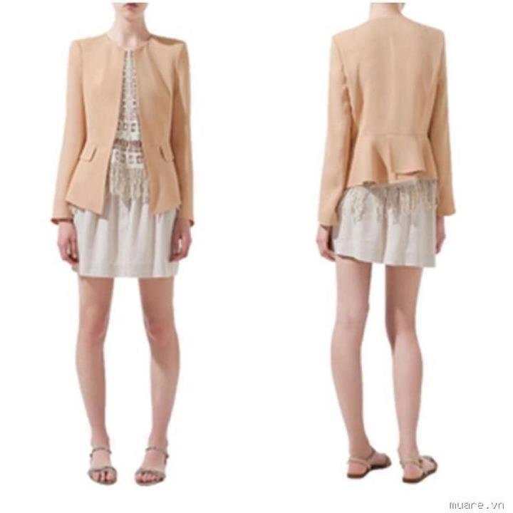 CandyPooh shop chuyên váy, áo sơ mi, vest,... hàng Tqxk, VNxk VestZara2mauhng-be_480k