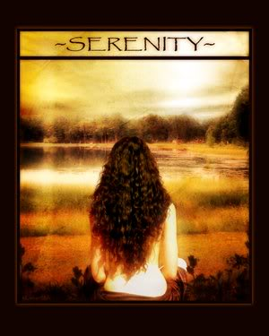 A Little Bit of Serenity..... AlittlebitofSerenity
