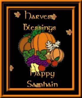 Happy Halloween everyone!! HAPPYSAMHAIN