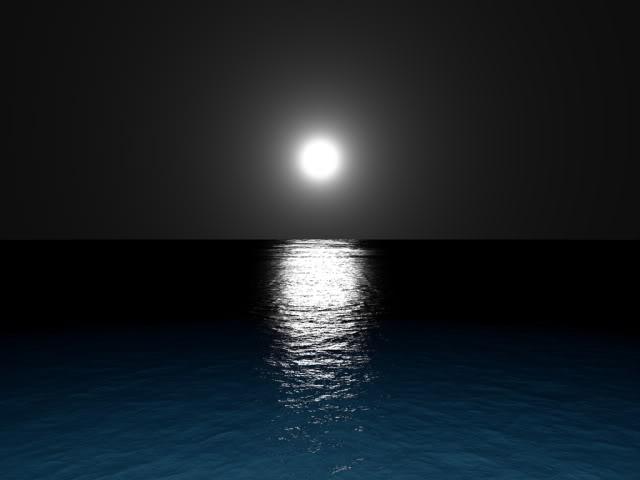 A Little Bit of Serenity..... Moonlightocean