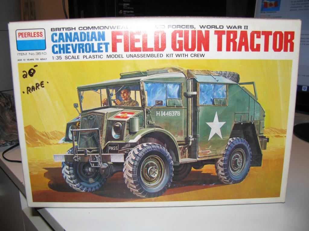 Peerless 3510 Canadian Chevrolet Field Gun Tractor 1/35 IMG_04001