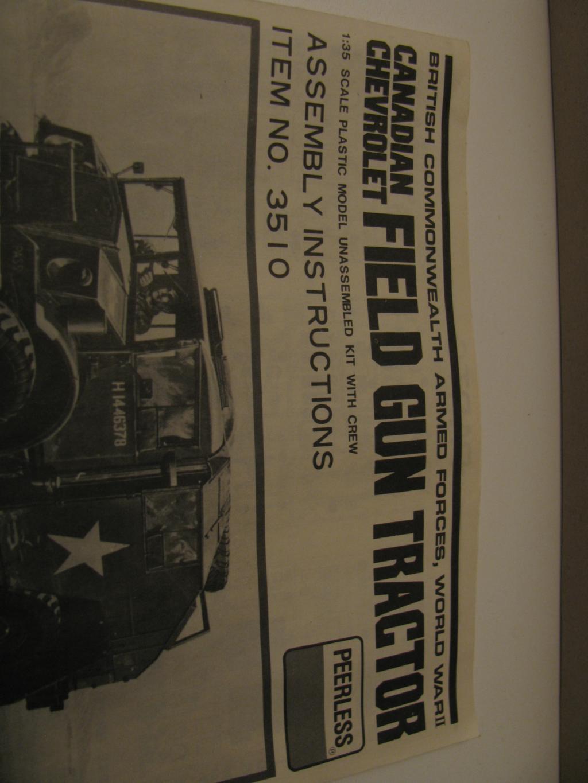 Peerless 3510 Canadian Chevrolet Field Gun Tractor 1/35 IMG_04101