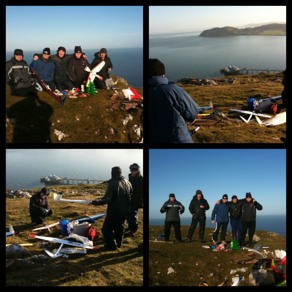 Pre Xmas meeting, at the Great Orme with the boys  Bf597a8a-1