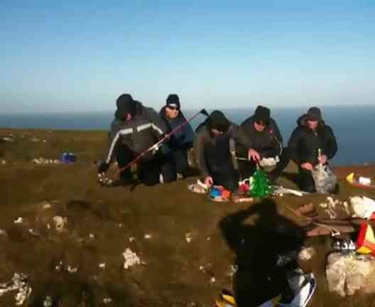 Pre Xmas meeting, at the Great Orme with the boys  Th_557af5ed