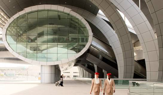 Dubai Airport, Terminal 3 - an Architectural Wonder! 13-14