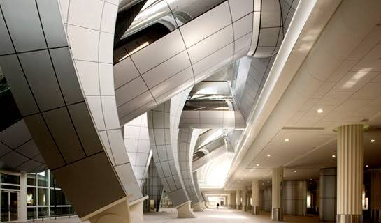 Dubai Airport, Terminal 3 - an Architectural Wonder! 5-23