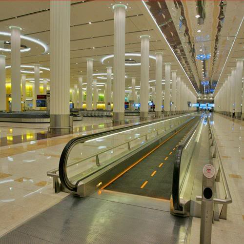 Dubai Airport, Terminal 3 - an Architectural Wonder! 7-19