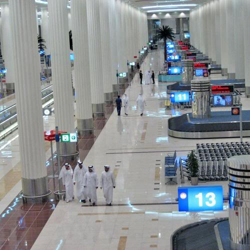 Dubai Airport, Terminal 3 - an Architectural Wonder! 9-17