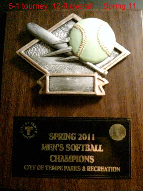 Mens softball team comes from loser bracket to win it all !!! SUNP0004-1